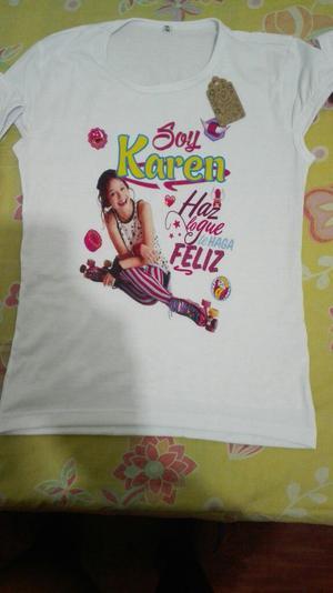 Vendo Camisetas Soy Luna