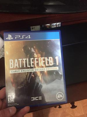 Battlefield 1 Play Station 4