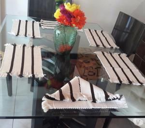 Juego de forros navidad para sillas de comedor x posot class for Comedor 6 sillas usado