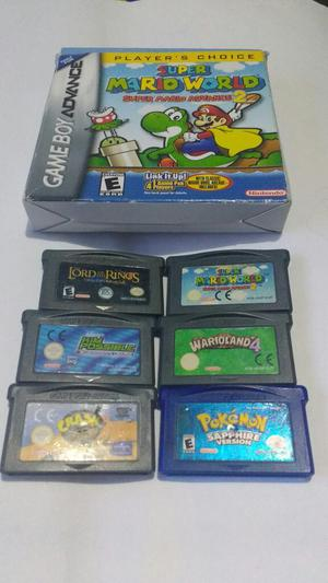 Lote de Juegos de Game Boy Son 6