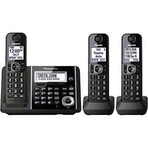 Panasonic Dect Kxtgf343b 3-auricular Teléfono Fijo