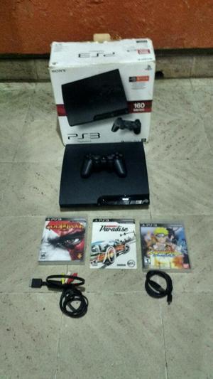 Remato Playstation 3 Slim de 160 Gbs