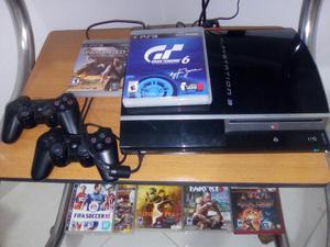 Venta Play3,con 2 Controles Y 7 Juegos.
