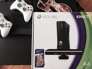 Xbox 360 Slim 2 Controles Kinect Guitarra 33 Juegos