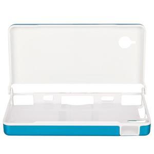 Estuche De Aluminio Para Nintendo Dsi Ndsi Azul Claro