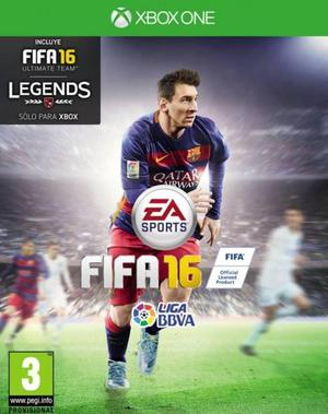 FIFA 16 XBOX ONE, PERFECTO ESTADO
