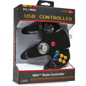 Hyperkin Cirka Usb N64 Control M-bk, Negro