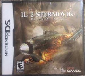 Il 2 Sturmovik Birds Of Prey Nintendo Ds Nuevo Y Sellado.