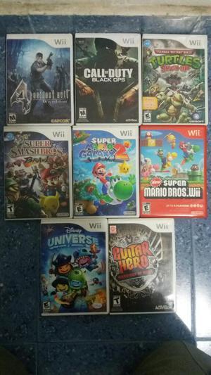 Juegos Originales de Wii desde 20
