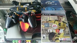 Playstation 3 Dd 160 Gb 3 Juegos Control