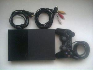 playstation 2 Memory Card 8Mb, 5 Juegos, Cables Conexión
