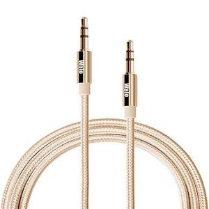 6.6 Ft (2 Pack) Walo Nylon Aux Cord / Aux Cable !