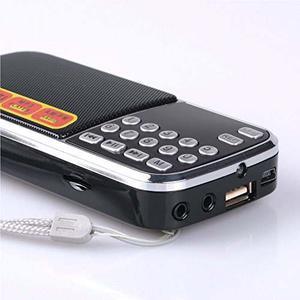 Aocome Portable Mini Am Fm Radio Clear Speaker !