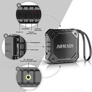 Aomais Ultra Portable Wireless Bluetooth Speakers !