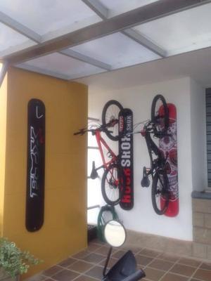Base Vertical Personalizada Bicicleta