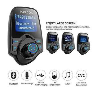 Car Fm Transmitter,wireless Car Bluetooth !