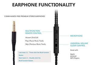 Headphones, Noise Cancelling Earphones With !