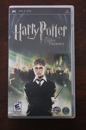Juego Psp Harry Potter And The Order Of The Phoenix