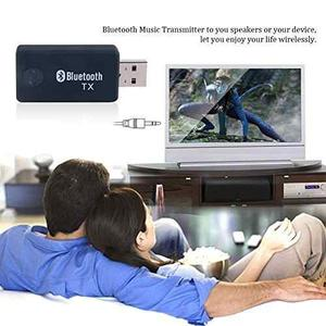 Urant 3.5mm Usb Bluetooth Transmitter Home Stereo !