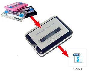 Usb Cassette To Mp3 Converter Capture, Portable !