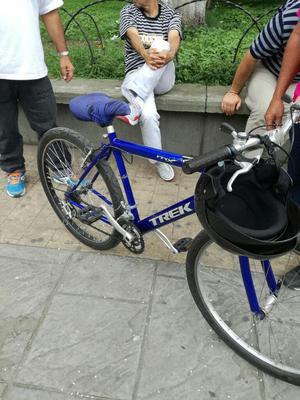 Bicicleta De Ruta Azul Rey Con Cromo Posot Class
