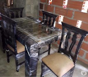 Vendo comedor moderno 4 puestos mesa vidrio posot class for Comedor 4 puestos moderno
