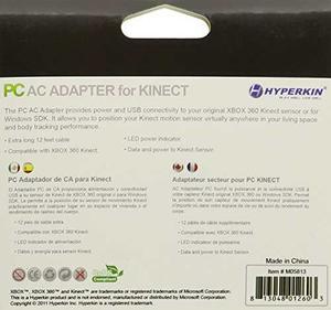 Adaptador De Ca Hyperkin Xbox 360 Kinect