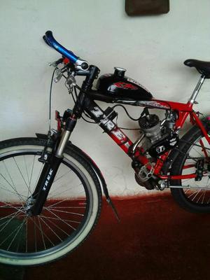 Bicicleta con Motor de Gasolina