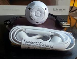 Mp3 Balon De Futbol,con Audifonos Y Cable Usb,nuevo