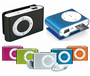Mp3 Micro Sd Con Audifonos Y Cable