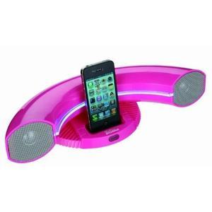 Reproductor Speaker Dock Sylvania Sip351-rosa Para Ipod / I