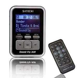 Soundfly Aux Reproductor Mp3 Car Transmisor Fm Para Tarje...