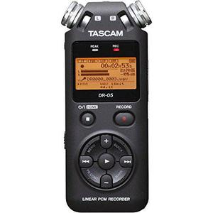 Tascam Dr-05 Portable Digital Recorder Kit With !