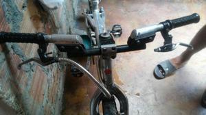 Vendo Bicicleta Cross en Aluminio con Di