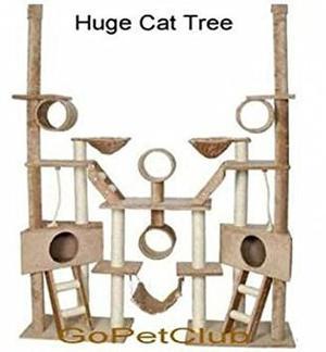 Árbol Del Gato Club De Go Pet Condo Muebles, Beige