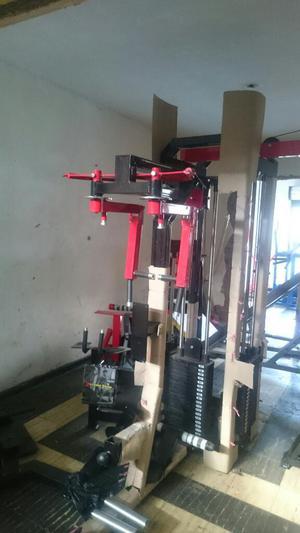 Somos fabricantes de resistencias y maquinas posot class for Equipo para gym