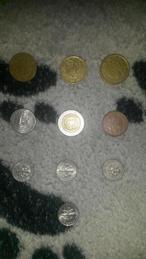 Monedas de Diferente Pais
