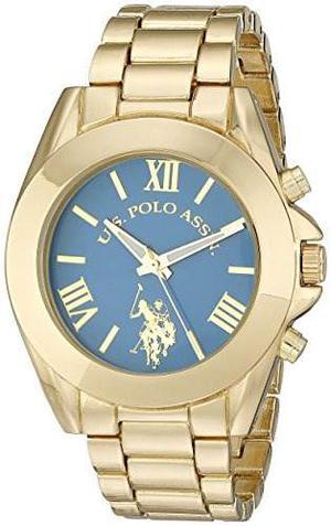 Reloj Pulsera U.s. Polo Assn. Mujer Usc Dorado