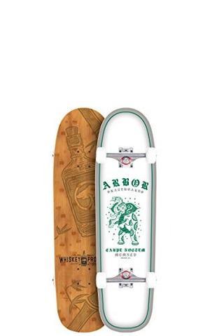 Skateboard Cenador Cucharon Blanco Completa Skate Board