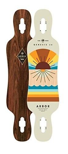 Skateboard Cubierta De La Génesis De Arbor,