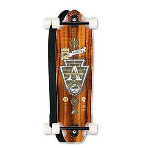 Skateboard Eje Longboard Completo Highground