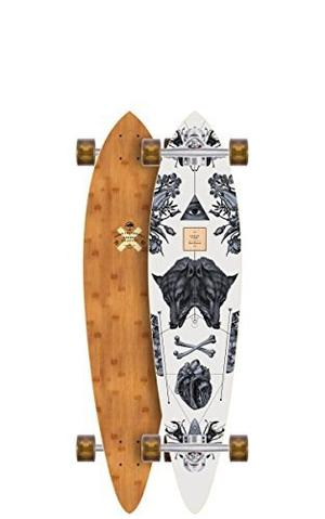 Skateboard Pescado De Arbor Bambú Serie Completa