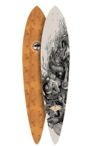 Skateboard Árbol Bambú Cubierta Intemporal