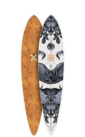 Skateboard Árbol Bambú Intemporal Serie Cubierta, 42