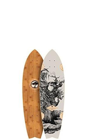 Skateboard Árbol Bambú Sizzler Cubierta