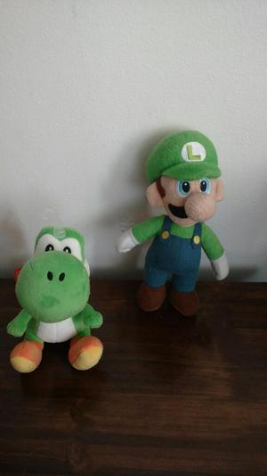 Peluches Mario Bros Yoshi Luigi
