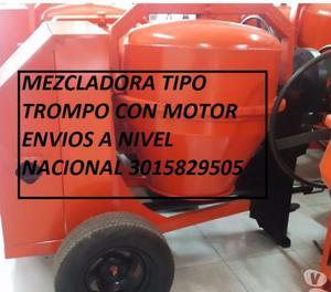 fabrica DE MEZCLADORA TIPO TROMPO