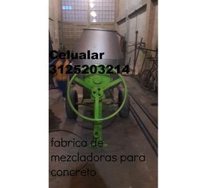 mezcladora para concreto diesel gasolina o electrica