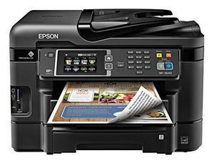 Epson Workforce Wf En Color Inalámbrica Todo En Uno Impreso