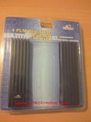 Multi Tap para PS 2 y slots para memory cards. NUEVA SELLADA